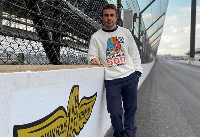Indy 500: У Алонсо очередные проблемы на тренировках
