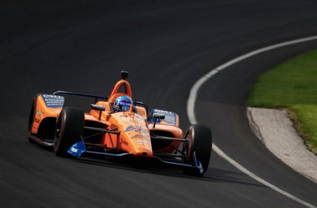 Indy 500: В квалификации Алонсо только 31-й