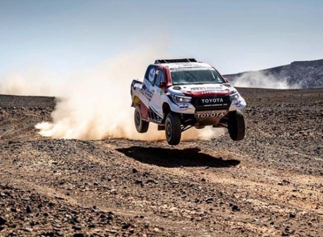 Фернандо Алонсо на трассе Rallye du Maroc