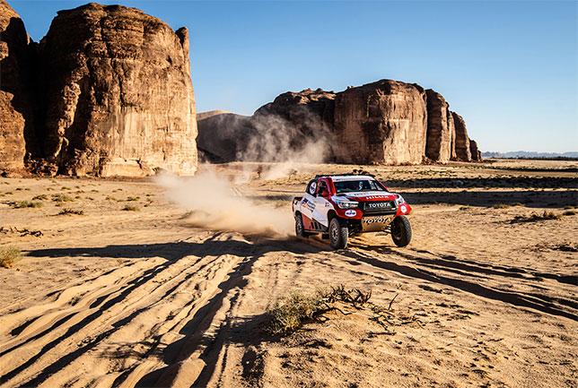 Экипаж Алонсо показал 3-е время дня на Ula-Neom Rally