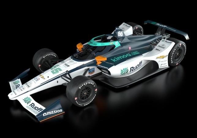 Машина команды Arrow McLaren SP, на которой в Indy 500 будет выступать Фернандо Алонсо