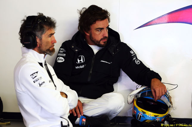 Эдоардо Бендинелли и Фернандо Алонсо, 2015 год
