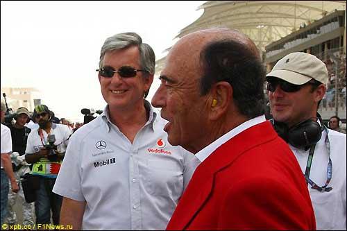 Эмилио Ботин, президент Banco Santander, - большой поклонник таланта Фернандо Алонсо