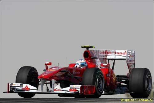 После квалификации в Бахрейне с Ferrari Алонсо сняли мотор - чтобы поставить его вновь в Абу-Даби