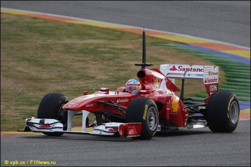 Фернандо Алонсо на Ferrari F150