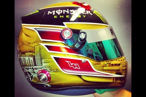 Новый дизайн шлема Льюиса Хэмилтона