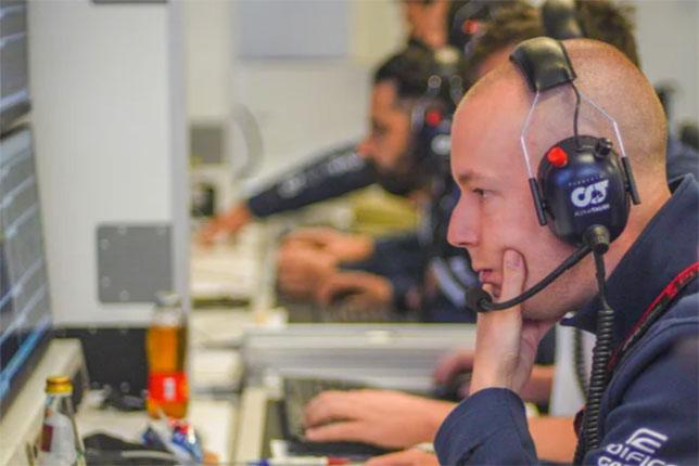 Крис Райт, фото пресс-службы Honda F1
