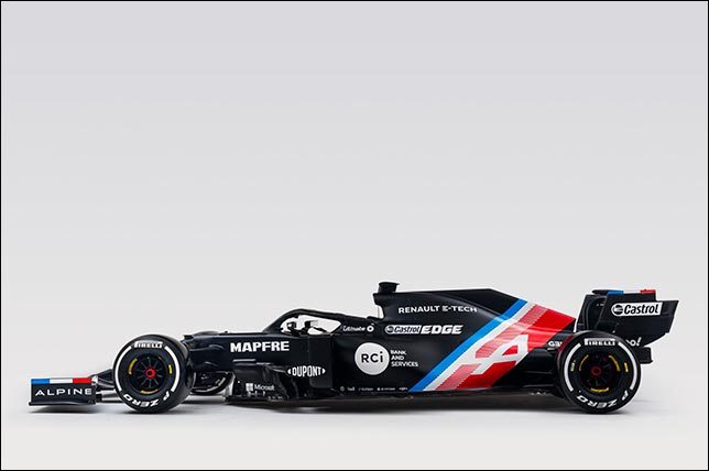 Машина Alpine F1
