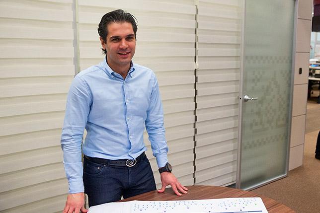 Ариф Рагимов в своём кабинете в Baku City Circuit