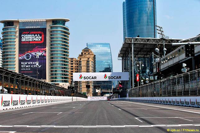 巴库希望阿塞拜疆大奖赛和欧元相结