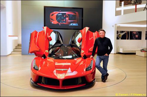 Рене Арну на базе Ferrari