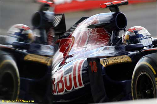Scuderia Toro Rosso. Себастьен Буэми