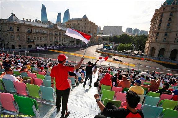 Формула 1 в Баку