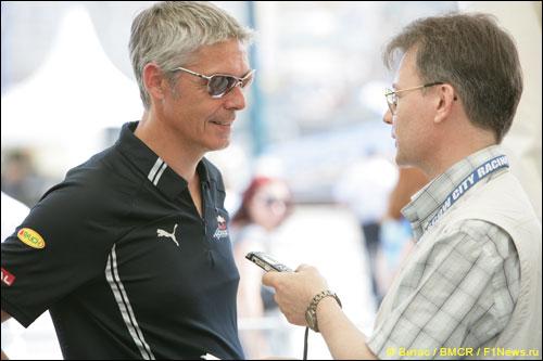 Тони Бэрроус дает интервью F1News.Ru