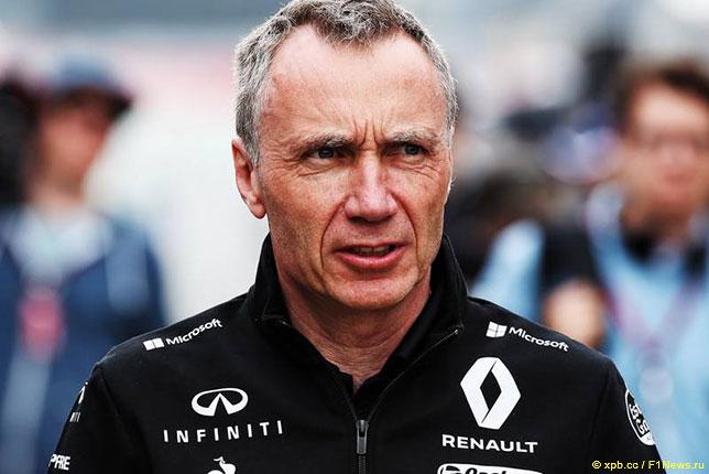 Боб Белл, руководитель технического департамента Renault