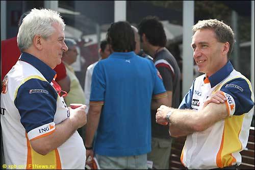 Техническое руководство Renault: Пэт Симондс и Боб Белл
