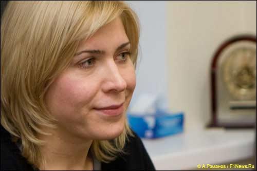 Руководитель проекта Moscow Raceway Екатерина Бельцевич