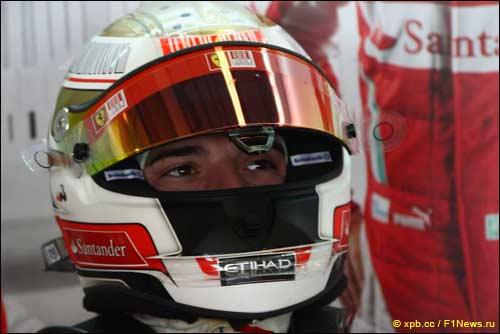 Резервный пилот Ferrari Жюль Бьянки