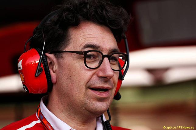 Маттиа Бинотто, технический директор Ferrari