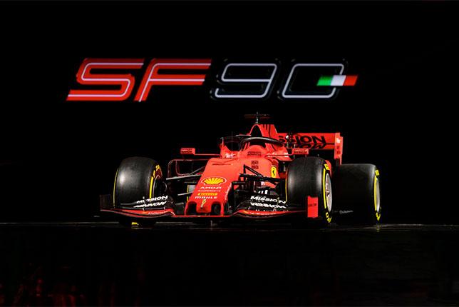 Новая Ferrari SF90