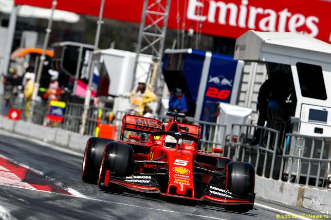 Гран При Испании. Себастьян Феттель