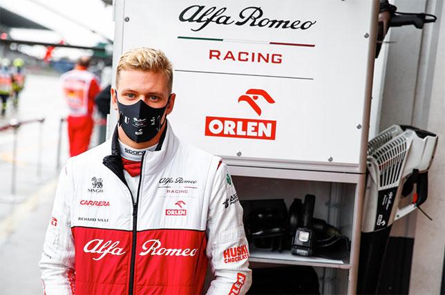 Мик Шумахер на Нюрбургринге, фото пресс-службы Alfa Romeo