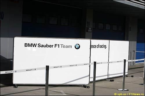 Боксы BMW Sauber во вторник были закрыты после инцидента