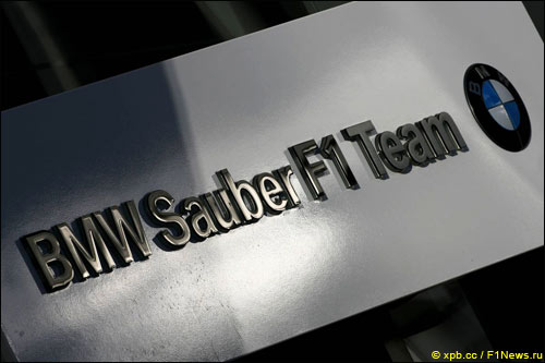 Логотип BMW Sauber