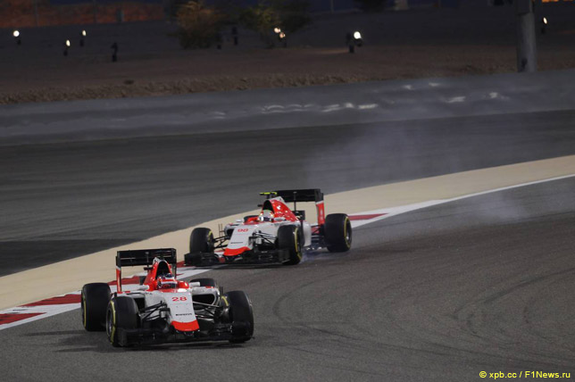 Уилл Стивенс и Роберто Мери в Бахрейне