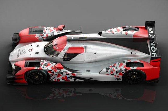 Машина Manor класса LMP2
