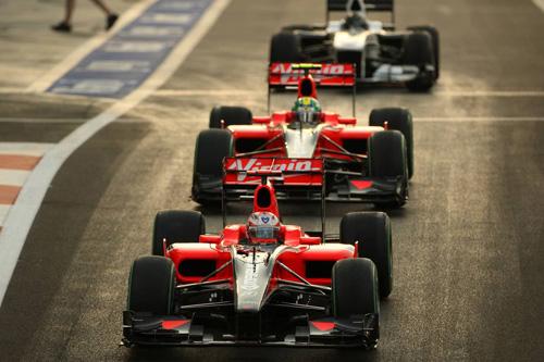 Гран При Абу Даби. Гонщики Virgin Racing