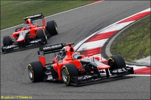 Тимо Глок и Шарль Пик на Гран При Китая