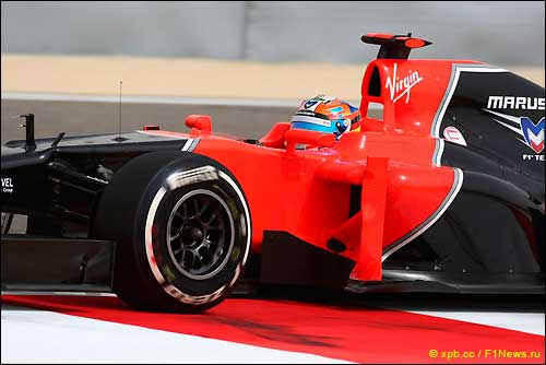 Тимо Глок. Marussia F1Team
