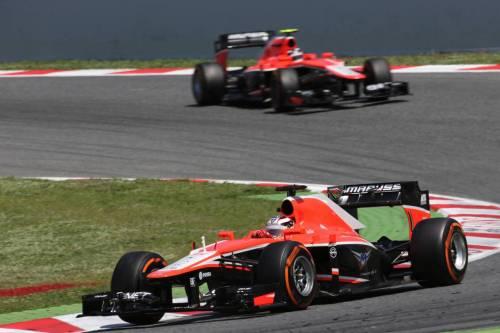 Гран При Испании. Гонщики Marussia