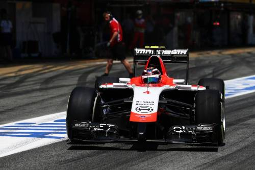 Гран При Испании. Макс Чилтон