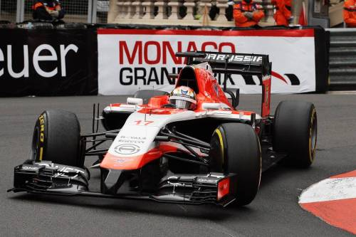 Гран При Монако. Жюль Бьянки