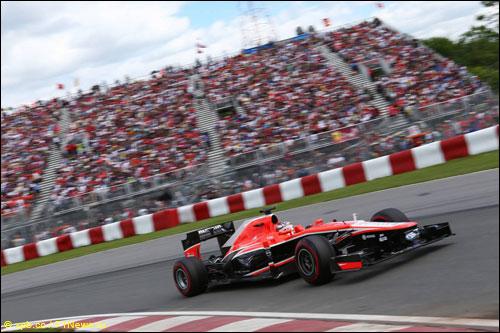 Жюль Бьянки на прошлогоднем Гран При Канады