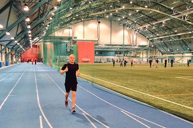 Валттери Боттас готовится к новому сезону в Финляндии, в своём родном городе Настола