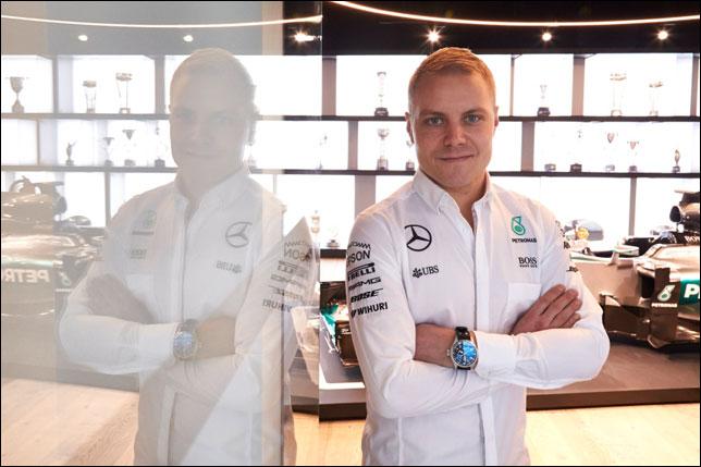 Гонщик «Формулы-1» Боттас официально перешел из«Уильямса» в«Мерседес»