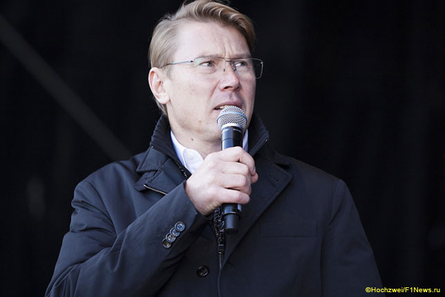 Мика Хаккинен, двукратный чемпион мира и один из менеджеров Валттери Боттаса