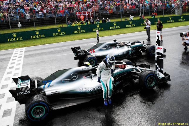 Гран При Венгрии. Гонщики Mercedes