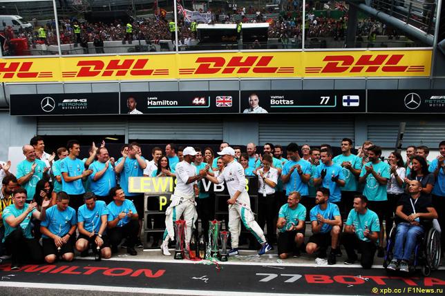 Гран При Италии. Команда Mercedes