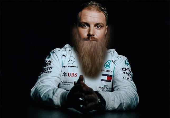 Валттери Боттас в недалёком будущем - если продолжит отращивать бороду