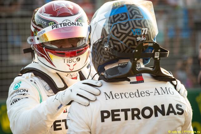 Гран При Австралии. Гонщики Mercedes