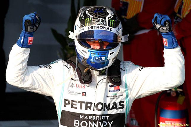 Валттери Боттас - победитель Гран При Австралии