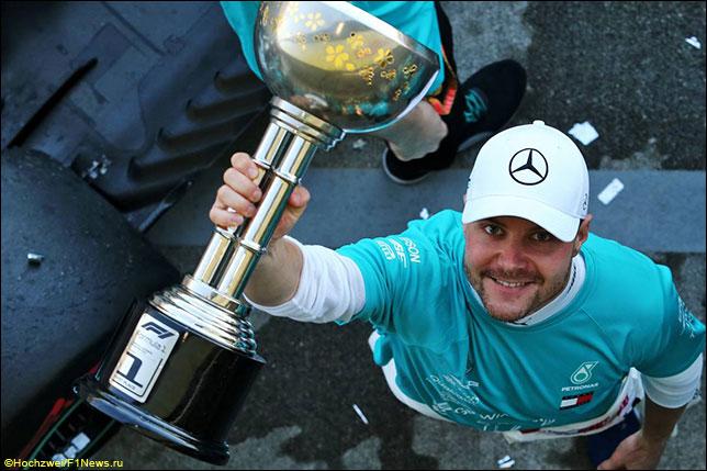 Валттери Боттас – победитель Гран При Японии