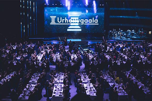 Гала-церемония, посвящённая выбору лучшего спортсмена года, прошла в спортивном комплексе Hartwall Areena