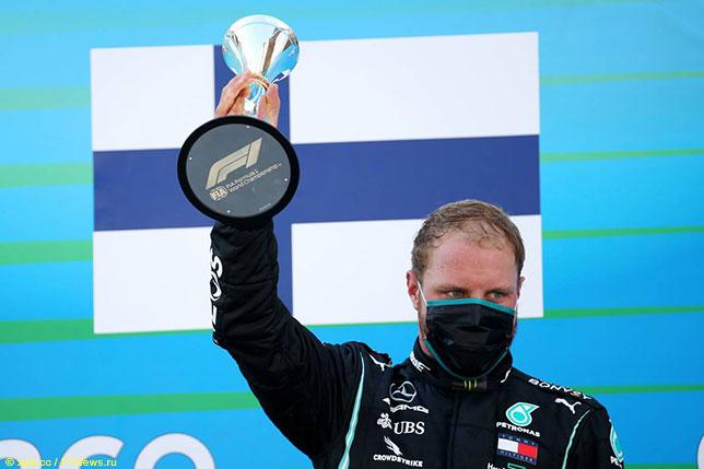 Валттери Боттас финишировал третьим в Гран При Испании