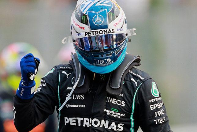 Валттери Боттас – победитель квалификации в Монце, фото пресс-службы Mercedes