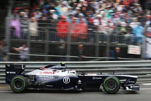 Гран При Монако. Валттери Боттас
